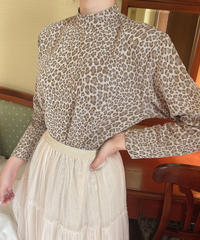 pastel leopard tops