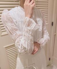 gathering blouse