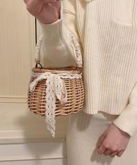 girly basket bag