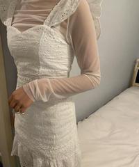 cotton lace cami op