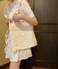 tote bag -flower-