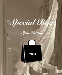 𝐒𝐩𝐞𝐜𝐢𝐚𝐥 𝐛𝐚𝐠  Spia vintage 2021 再販売