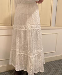 lace girly skirt