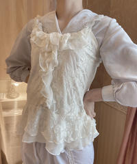frill lace camisole