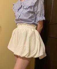 white  ribbon pants