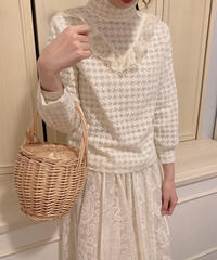 lace tops ivory
