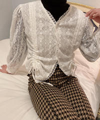lace lovely blouse