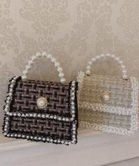tweed dressy bag