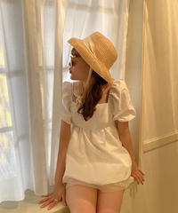 tulle mini blouse op