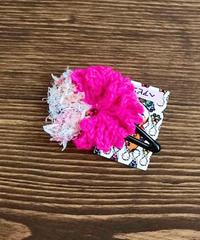 お花ヘアピン*pinkparty