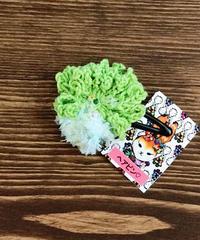 お花ヘアピン*lightgreenparty