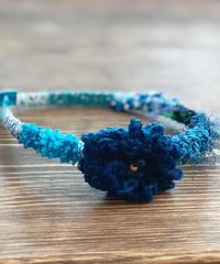 ニットカチューシャ*Blueガール