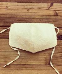立体マスク*刺繍の粒(大人サイズL)