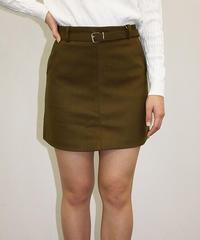 ベルト付きミニスカート:4色展開