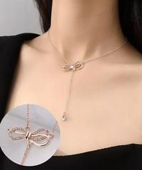 ribbonネックレス