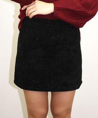 ラメ混ミニタイトスカート:4色展開