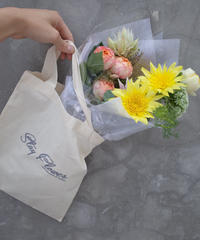 A bag with Flowers