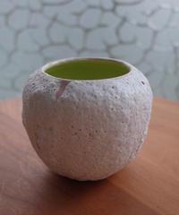 Lina E Ceramics 017: white ×pink
