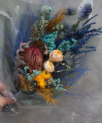 Dried flower Bouquet:Medium
