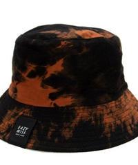 EAZY MISS   TIE DYE BUCKET HAT / Dark Orange