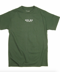 HOTEL BLUE LOGO TEE / FOREST GREEN