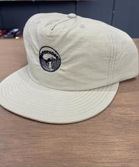 LOOPHOLE WHEELS   'EMBROIDERED SURF CAP KHAKI