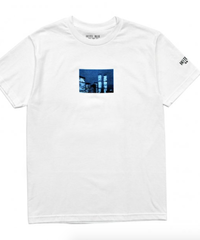 HOTEL BLUE WTC TEE / WHITE