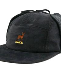 SNACK SKATEBOARDS  BUCK EARFLAP HAT