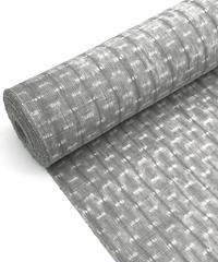 まるで絹物のような雰囲気 生地厚めな上質な木綿の絞りの反物 ※水通し マイサイズ手縫い仕立て