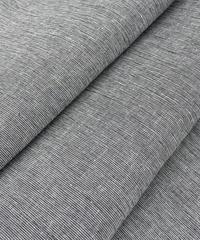 シンプルで、肩肘張らないリラックスした大人っぽいカジュアルスタイルに!縦縞の綿麻着物※手縫いマイサイズ仕立て