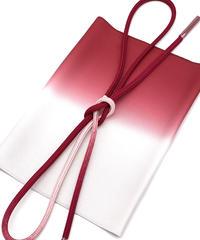 特典付き!こだわりの「赤」コーディネートセット 帯揚 真紅×グレージュ 帯締 真紅×一斤染