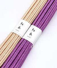 数量限定 ピンクVSピンク 自分がなりたい色を選ぶ 手組み帯締め [紅衣オリジナル]