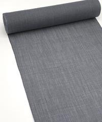 シンプル×手仕事感 網代の柄が手仕事感を感じさせる小千谷縮グレー ※手縫い マイサイズ仕立て