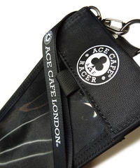 AB001TH-BK/ACE CAFE RACER Ticket/Pass Holder