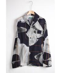 st-48G   gray nijimi cupra shirts