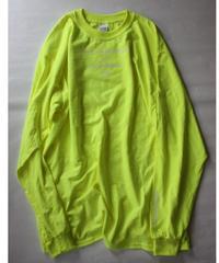 Lyric long sleeve T- shirt/yellow
