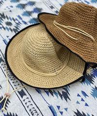 Paper knitting adventure hat