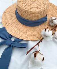 Raffia blade hat