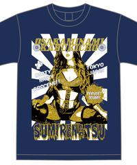 夏すみれ2019年度版オリジナルTシャツ【ネイビー】