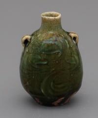 No.116:ORIBE SAKE Bottle「織部徳利」