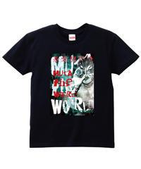 グレート・ムタ「MUTA the WORLD」Tシャツ ※KEIJI MUTO OFFICIAL SHOP 限定版
