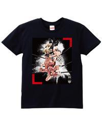 武藤敬司「雪崩式フランケンシュタイナー」Tシャツ