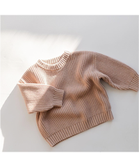 KINDLY |  children's chunky knit pullover