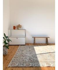 vintage rug   rug beige 252 × 159cm