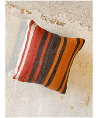 Lily vintage | vintage cushion cover -orange black red-