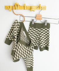 tiny trove | checker board knit setup