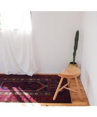 Afghanistan vintage | rug baluch navy 153 × 93cm