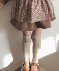 Metal socks set / ソックス / 2色1set / ラメ / 透かし編み / 女の子 / キッズ