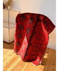 vintage rug | rug Persian red 131 × 110cm