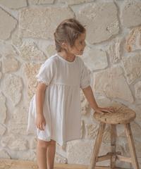 illoura the label | short sleeve Yumi dress -Oat-